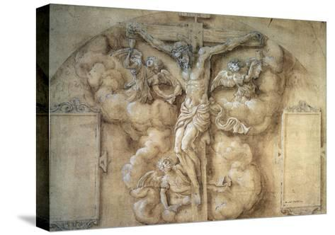 The Crucifixion, 1547-Giulio Campi-Stretched Canvas Print