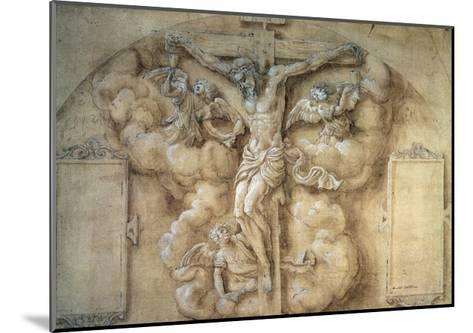 The Crucifixion, 1547-Giulio Campi-Mounted Giclee Print