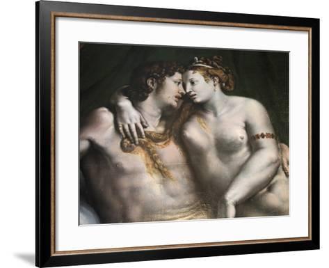 Love Scene, 16th Century-Giulio Romano-Framed Art Print