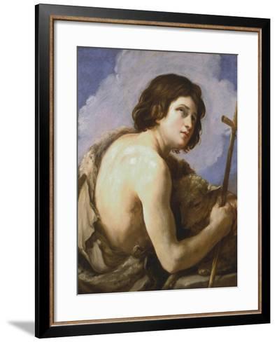 St John the Baptist, C1595-1642-Guido Reni-Framed Art Print
