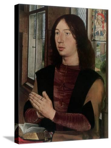 Martin Van Nieuwenhoven, 1487-Hans Memling-Stretched Canvas Print