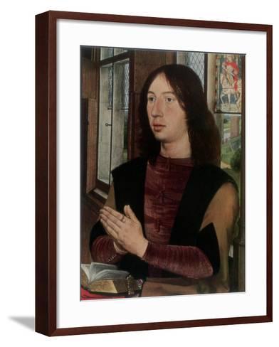 Martin Van Nieuwenhoven, 1487-Hans Memling-Framed Art Print