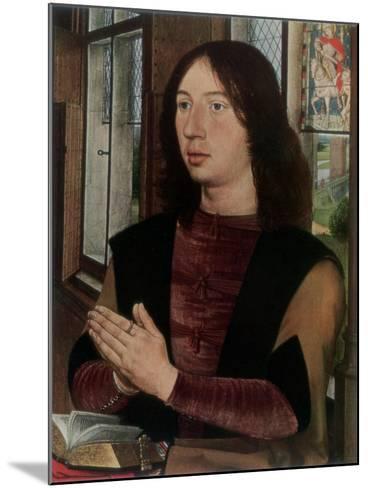 Martin Van Nieuwenhoven, 1487-Hans Memling-Mounted Giclee Print