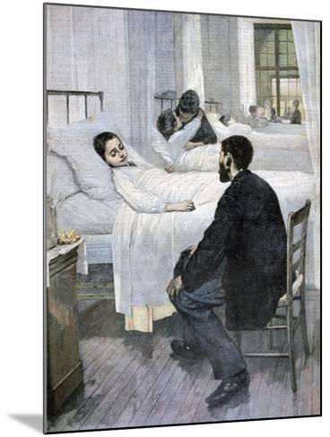 Visiting Day at the Hospital, 1893-Henry Jules Jean Geoffroy-Mounted Giclee Print