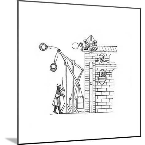 Siege Machine, C1260-Henry Shaw-Mounted Giclee Print