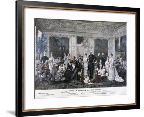 The Royal Family of Denmark, 1891-Henri Meyer-Framed Art Print