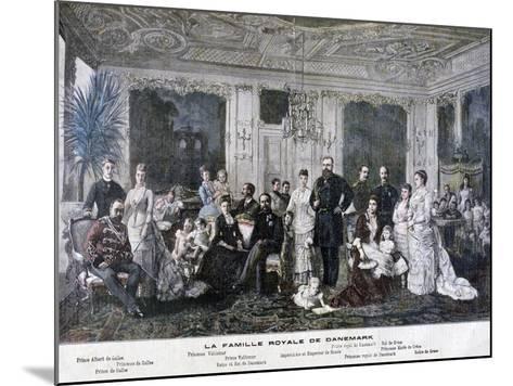 The Royal Family of Denmark, 1891-Henri Meyer-Mounted Giclee Print