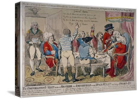 Corporation of Windsor, 1790-Isaac Cruikshank-Stretched Canvas Print