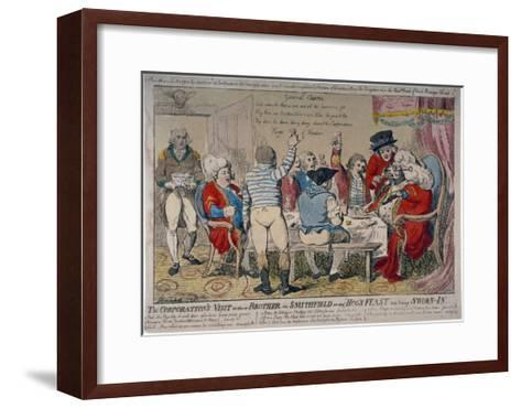 Corporation of Windsor, 1790-Isaac Cruikshank-Framed Art Print