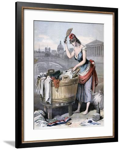 Marianne, the Queen of the Washerwomen, 1893-Henri Meyer-Framed Art Print