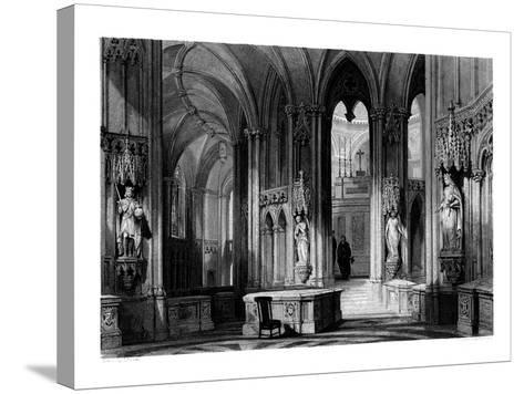 Mausoleum of the Orleans Family, Chapel of Dreux, France, 1875-Henry Adlard-Stretched Canvas Print