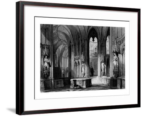 Mausoleum of the Orleans Family, Chapel of Dreux, France, 1875-Henry Adlard-Framed Art Print