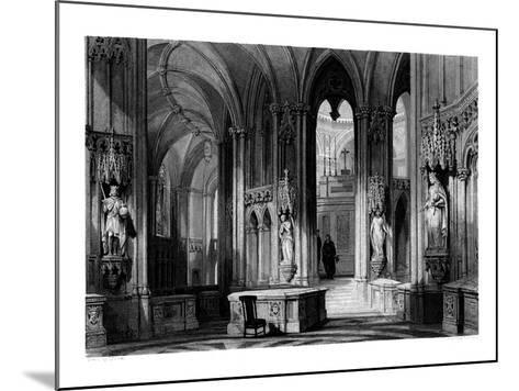 Mausoleum of the Orleans Family, Chapel of Dreux, France, 1875-Henry Adlard-Mounted Giclee Print