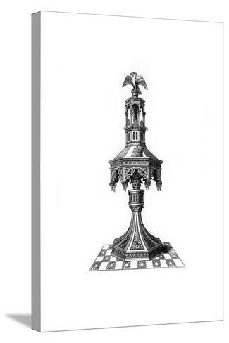 Lectern, C15th Century?-Henry Shaw-Stretched Canvas Print