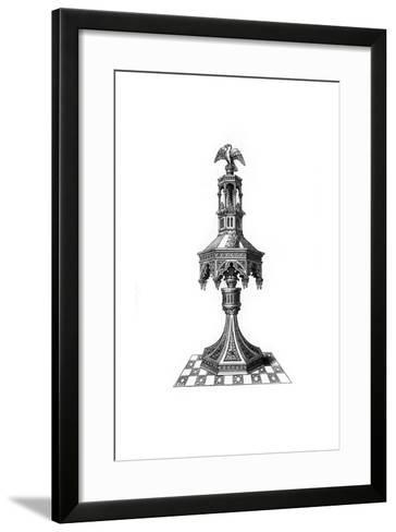 Lectern, C15th Century?-Henry Shaw-Framed Art Print