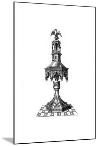 Lectern, C15th Century?-Henry Shaw-Mounted Giclee Print