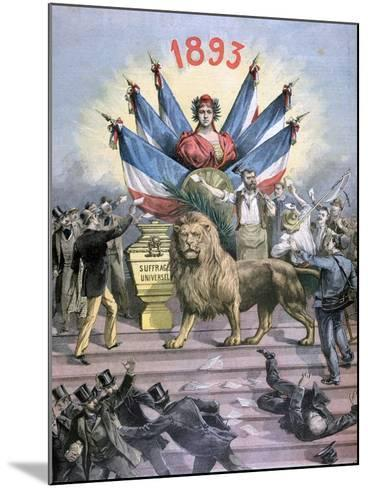 Universal Suffrage, 1893-Henri Meyer-Mounted Giclee Print