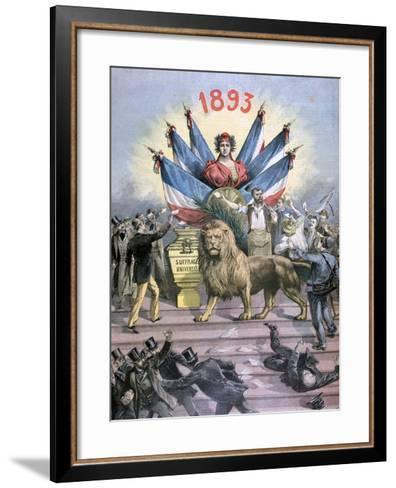 Universal Suffrage, 1893-Henri Meyer-Framed Art Print