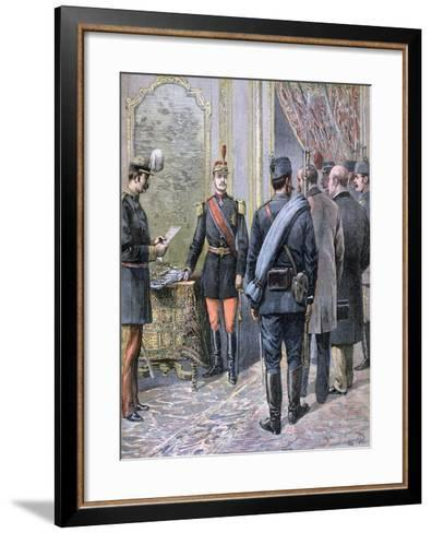 Coup D'Etat in Serbia, 1893-Henri Meyer-Framed Art Print