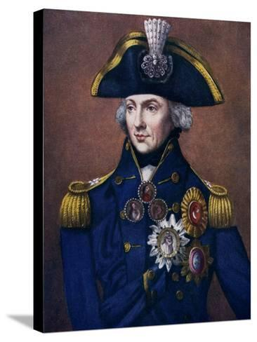 Admiral Sir Horatio Nelson, 1798-1799-Henry Bone-Stretched Canvas Print