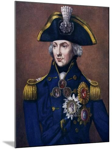 Admiral Sir Horatio Nelson, 1798-1799-Henry Bone-Mounted Giclee Print