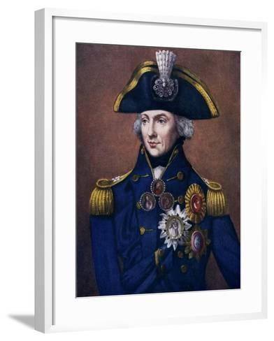 Admiral Sir Horatio Nelson, 1798-1799-Henry Bone-Framed Art Print