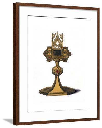 Reliquary, 15th Century-Henry Shaw-Framed Art Print