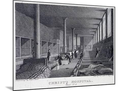 Christ's Hospital, London, 1823-Henry Sargant Storer-Mounted Giclee Print