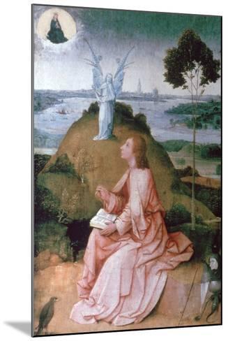 St John the Evangelist on Patmos, 1504-1505-Hieronymus Bosch-Mounted Giclee Print