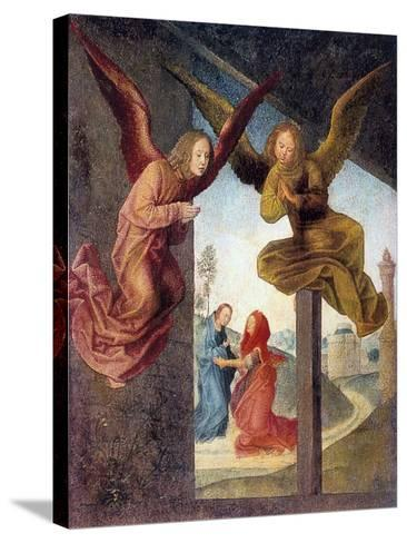 The Adoration of the Magi, Detail, 15th Century-Hugo van der Goes-Stretched Canvas Print