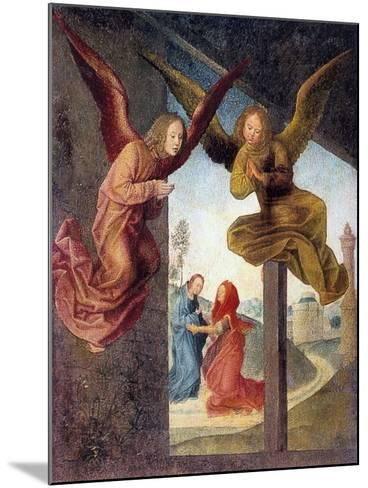 The Adoration of the Magi, Detail, 15th Century-Hugo van der Goes-Mounted Giclee Print