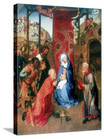 The Adoration of the Magi, 15th Century-Hugo van der Goes-Stretched Canvas Print