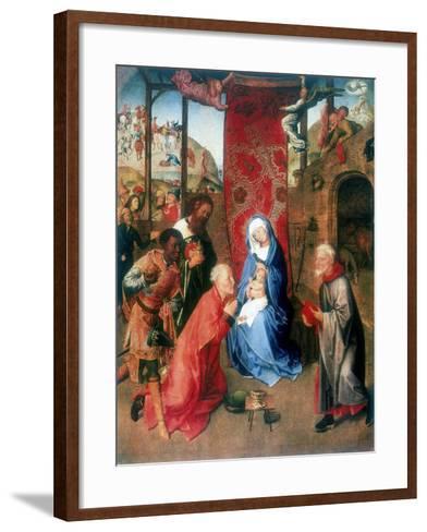 The Adoration of the Magi, 15th Century-Hugo van der Goes-Framed Art Print