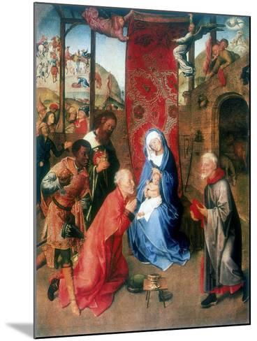 The Adoration of the Magi, 15th Century-Hugo van der Goes-Mounted Giclee Print
