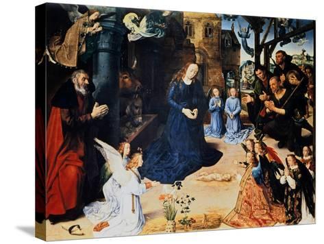 Adoration of the Shepherd, 1476-1479-Hugo van der Goes-Stretched Canvas Print