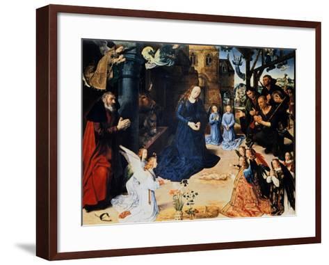 Adoration of the Shepherd, 1476-1479-Hugo van der Goes-Framed Art Print