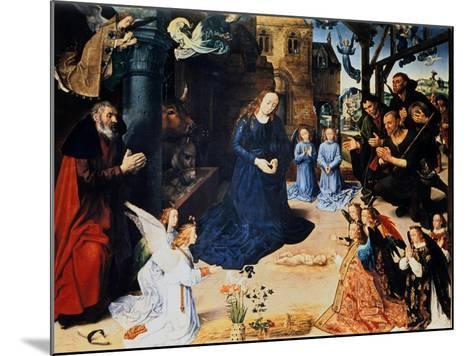 Adoration of the Shepherd, 1476-1479-Hugo van der Goes-Mounted Giclee Print
