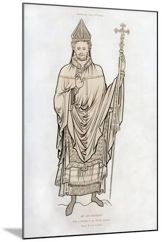 An Archbishop, Late 12th Century-Henry Shaw-Mounted Giclee Print