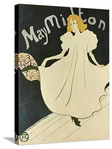 May Milton, 1895-Henri de Toulouse-Lautrec-Stretched Canvas Print