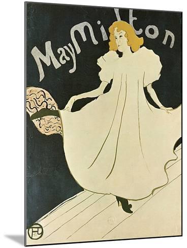 May Milton, 1895-Henri de Toulouse-Lautrec-Mounted Giclee Print