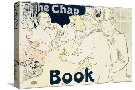 Irish and American Bar, Rue Royale - the Chap Book, 1896-Henri de Toulouse-Lautrec-Stretched Canvas Print