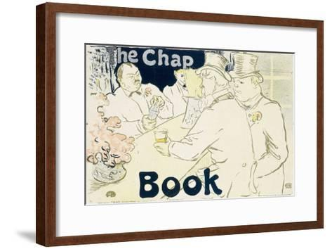 Irish and American Bar, Rue Royale - the Chap Book, 1896-Henri de Toulouse-Lautrec-Framed Art Print