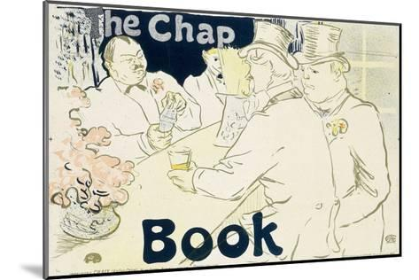 Irish and American Bar, Rue Royale - the Chap Book, 1896-Henri de Toulouse-Lautrec-Mounted Giclee Print