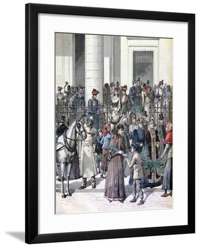 Palm Sunday, Holy Week, Paris, 1891-Henri Meyer-Framed Art Print