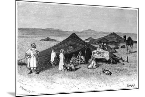 Nomad Encampment, Sahara, C1890- Hildibrand-Mounted Giclee Print
