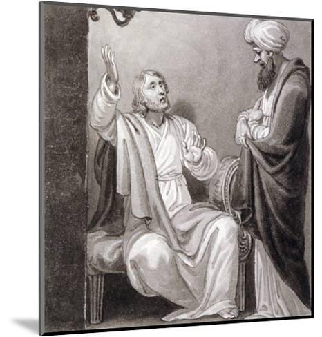 Christ Preaching, C1810-C1844-Henry Corbould-Mounted Giclee Print