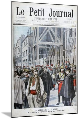 A Strike in Paris, 1898-Henri Meyer-Mounted Giclee Print