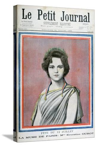 Mlle Ernestine Curot, 1898-Henri Meyer-Stretched Canvas Print