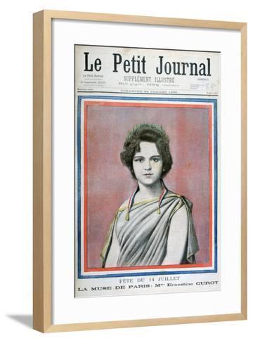 Mlle Ernestine Curot, 1898-Henri Meyer-Framed Art Print