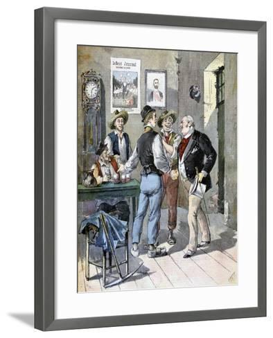 Before the Election, 1893-Henri Meyer-Framed Art Print